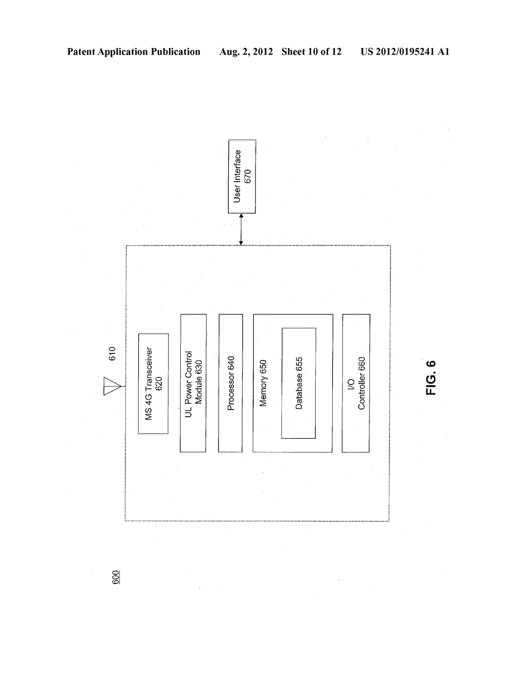 SYSTEM AND METHOD FOR UPLINK POWER CONTROL - diagram, schematic, and image 11
