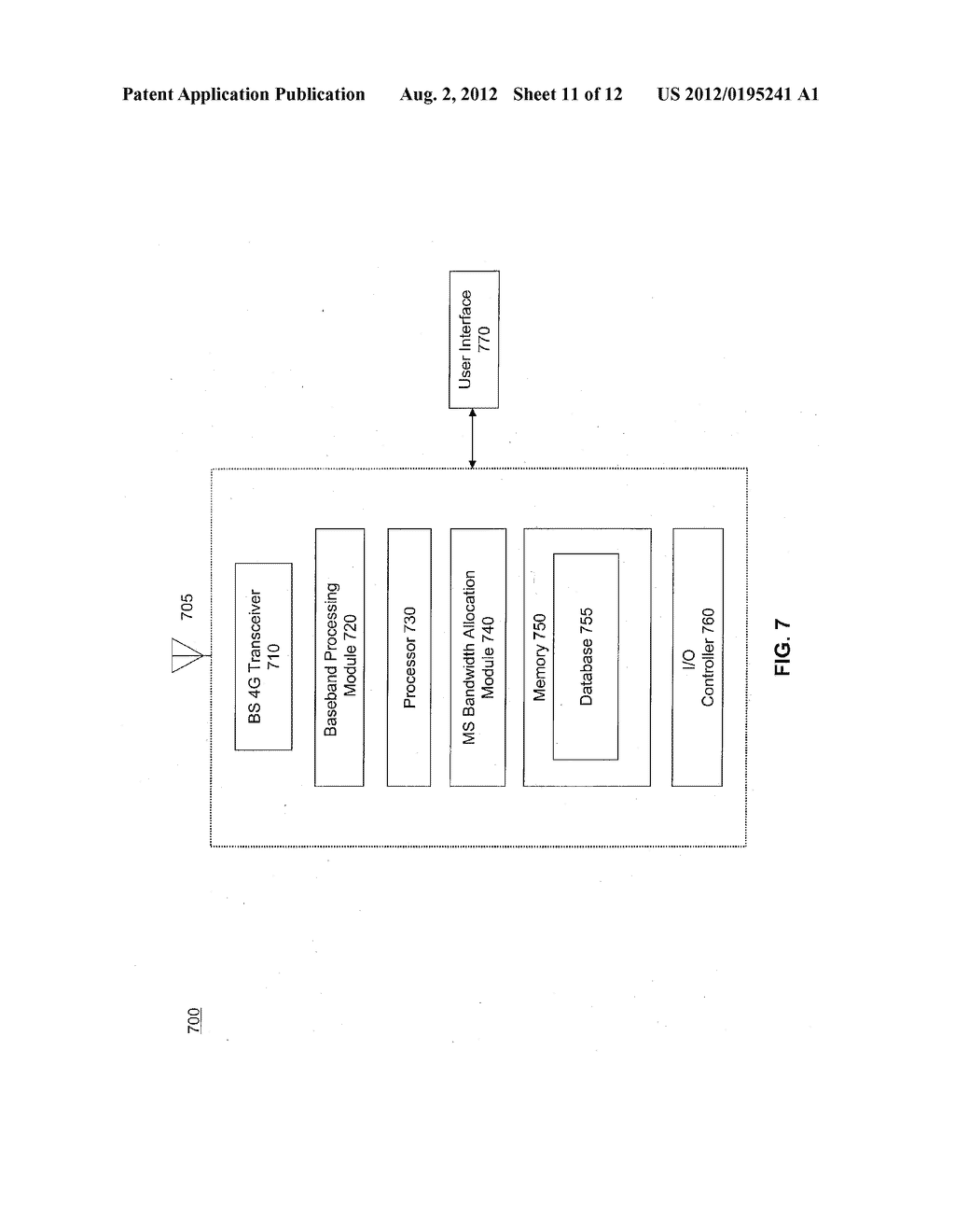 SYSTEM AND METHOD FOR UPLINK POWER CONTROL - diagram, schematic, and image 12