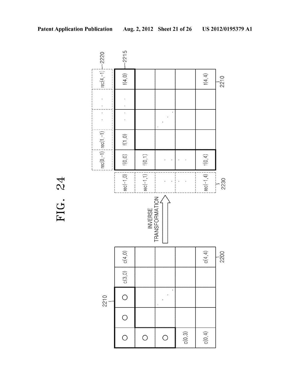 METHOD AND APPARATUS FOR ENCODING IMAGES, AND METHOD AND APPARATUS FOR     DECODING ENCODED IMAGES - diagram, schematic, and image 22