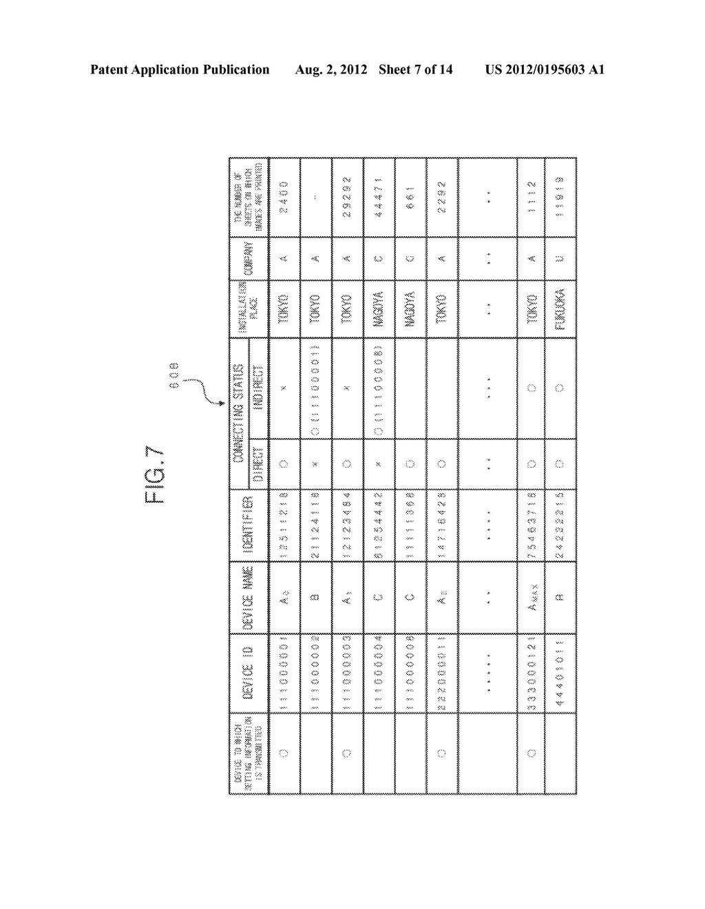 REMOTE MANAGEMENT SYSTEM, REMOTE SETTING METHOD AND IMAGE FORMING DEVICE - diagram, schematic, and image 08