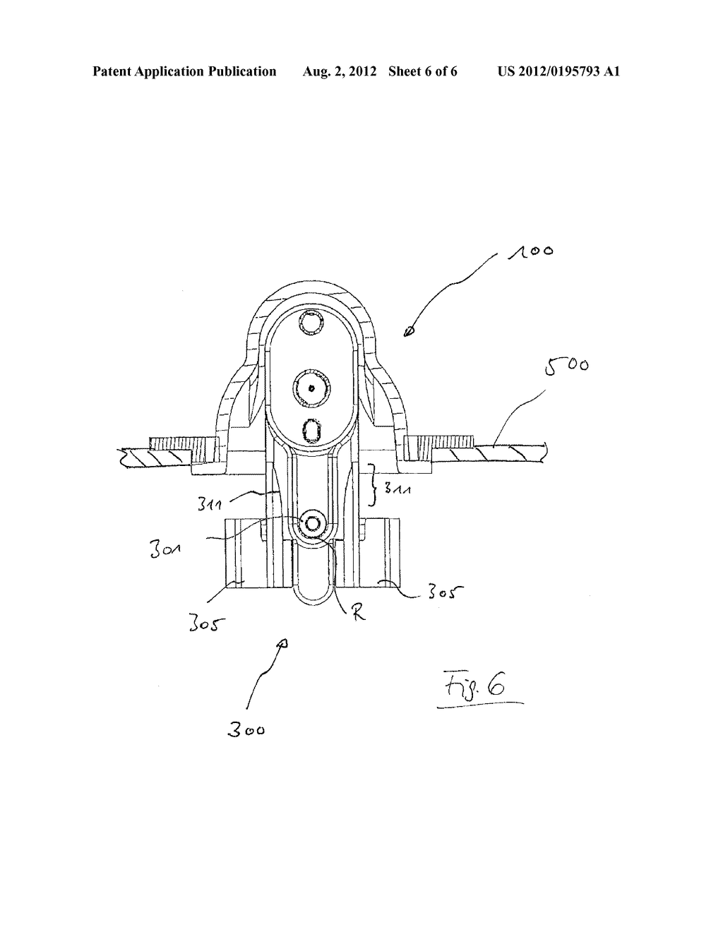 CLAMP MOUNTING FOR A SYRINGE OF A DOSING APPARATUS, DOSING APPARATUS AND     BLOOD TREATMENT APPARATUS - diagram, schematic, and image 07