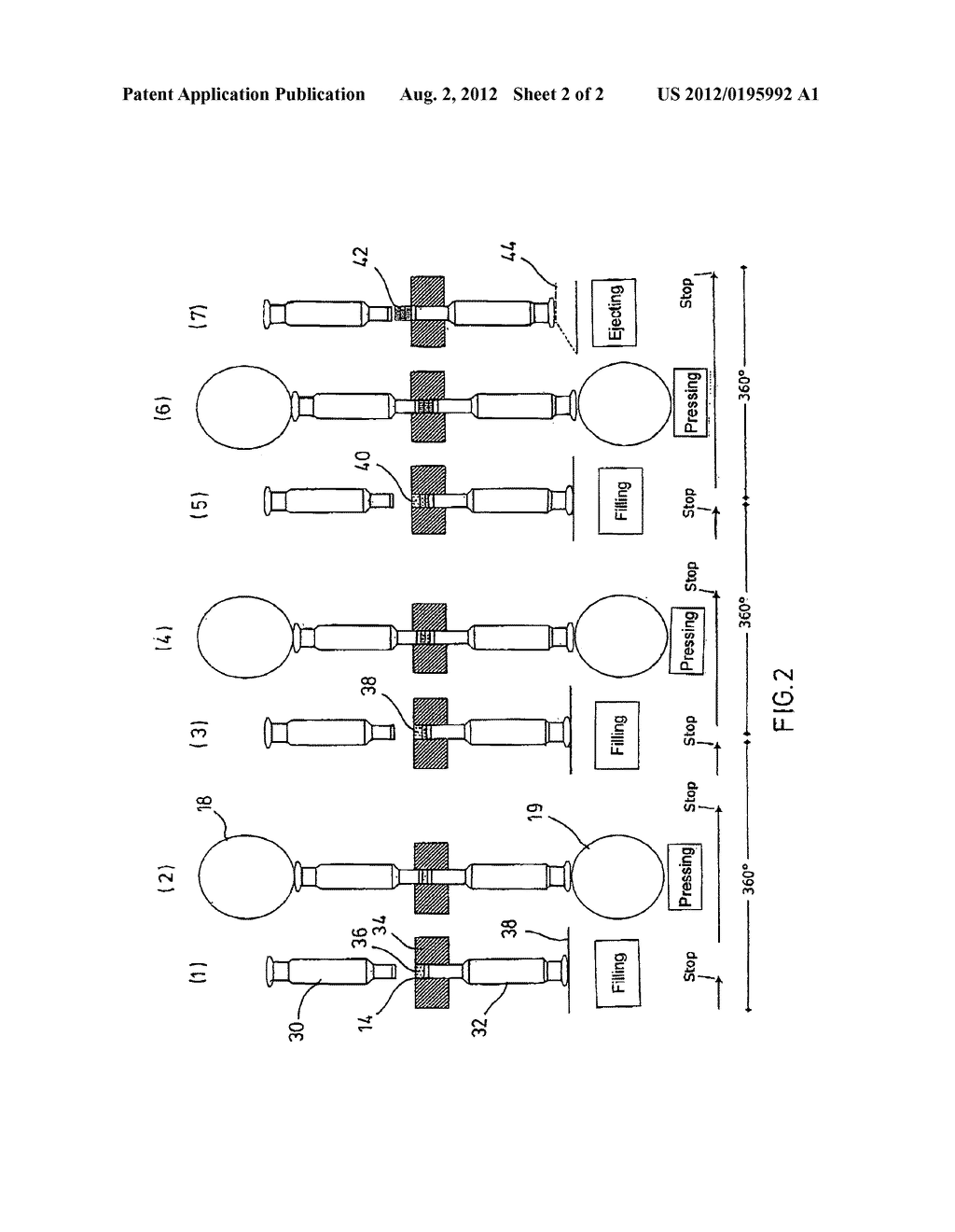 METHOD AND APPARATUS FOR TEST PRESSING MULTI-LAYER TABLETS OR COATED     TABLETS - diagram, schematic, and image 03
