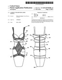 Garment for Providing Body Shaping diagram and image