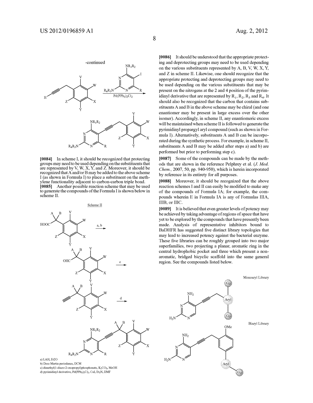 HETEROCYCLIC ANALOGS OF PROPARGYL-LINKED INHIBITORS OF DIHYDROFOLATE     REDUCTASE - diagram, schematic, and image 24