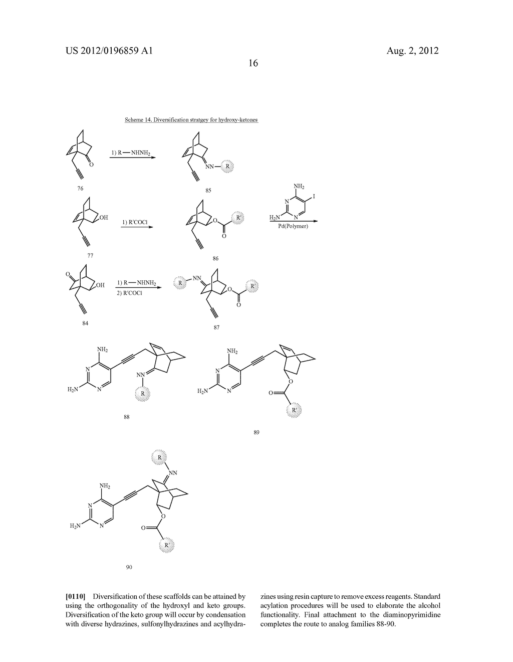 HETEROCYCLIC ANALOGS OF PROPARGYL-LINKED INHIBITORS OF DIHYDROFOLATE     REDUCTASE - diagram, schematic, and image 32