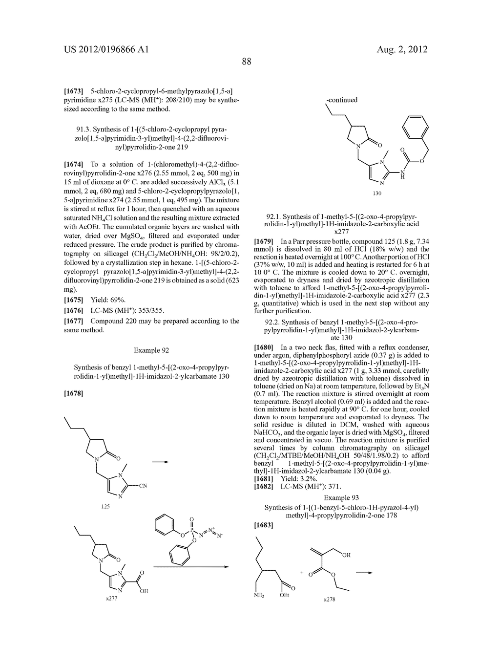 2-Oxo-1-Pyrrolidine Derivatives, Processes for Preparing Them and Their     Uses - diagram, schematic, and image 89