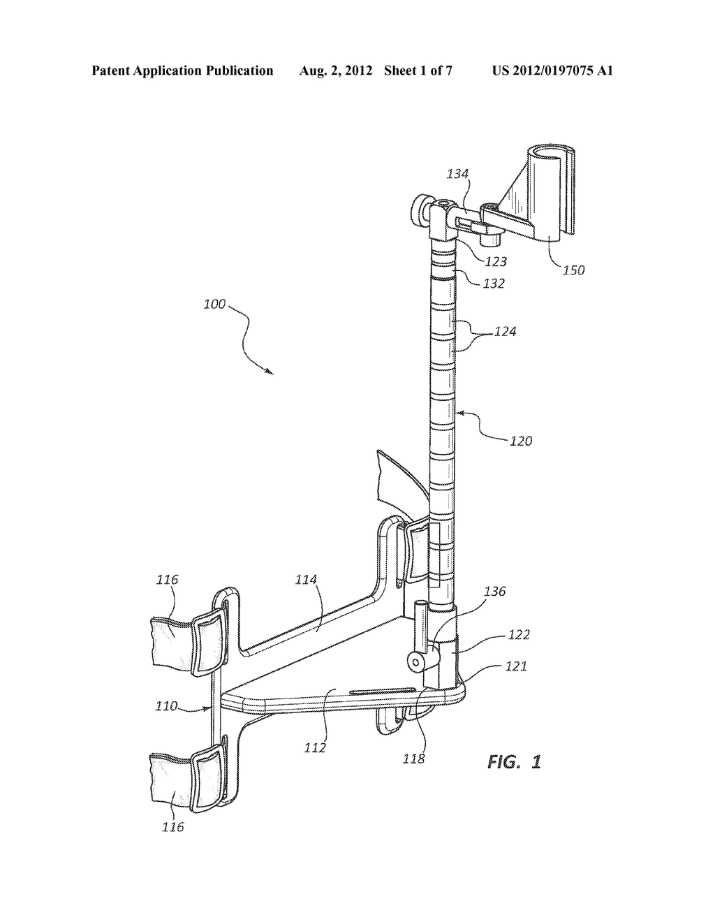 ENDOSCOPE SECUREMENT DEVICE AND METHOD OF USE - diagram, schematic, and image 02