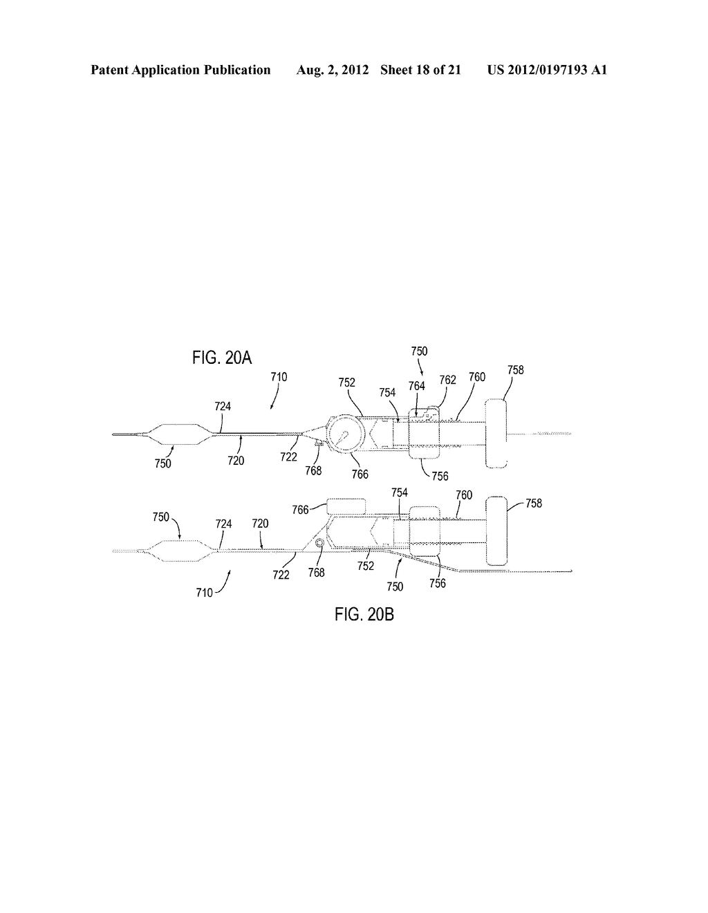APPARATUS AND METHODS FOR TREATING OBSTRUCTIONS WITHIN BODY LUMENS - diagram, schematic, and image 19