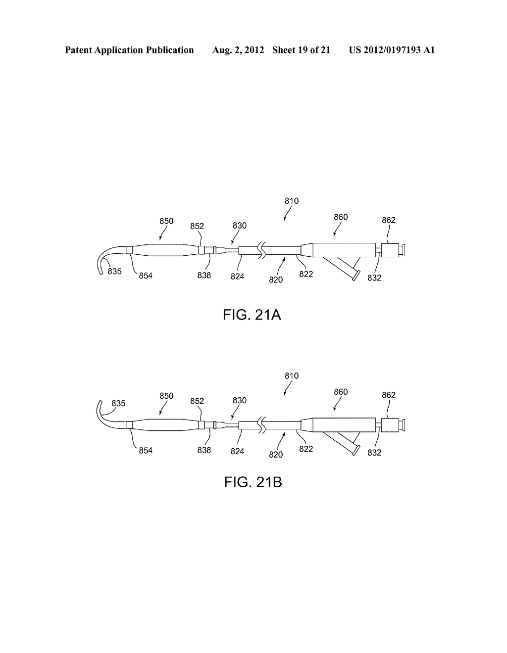 APPARATUS AND METHODS FOR TREATING OBSTRUCTIONS WITHIN BODY LUMENS - diagram, schematic, and image 20
