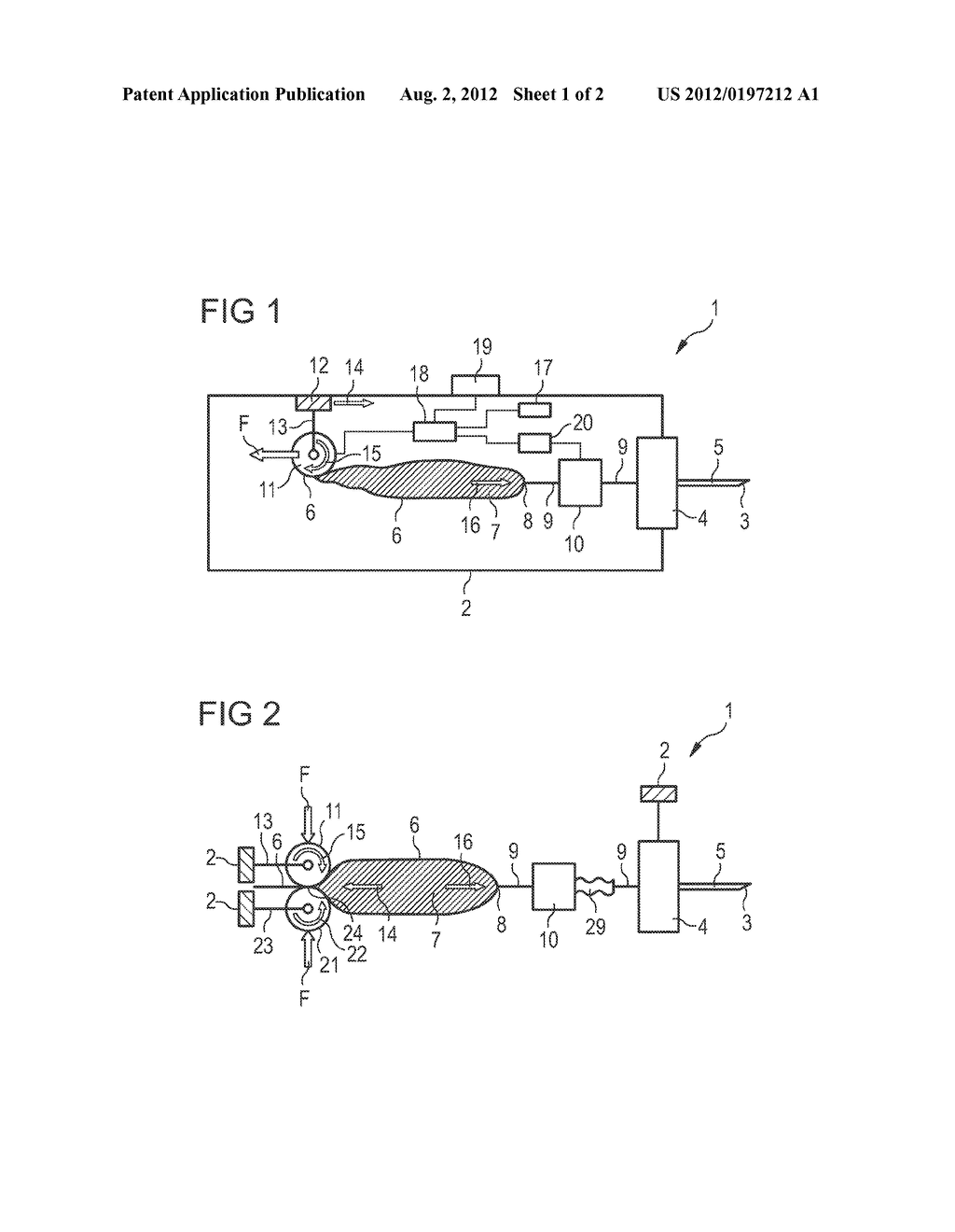 DRUG DELIVERY DEVICE AND USE OF A ROTATABLE ROLL IN A DRUG DELIVERY DEVICE - diagram, schematic, and image 02