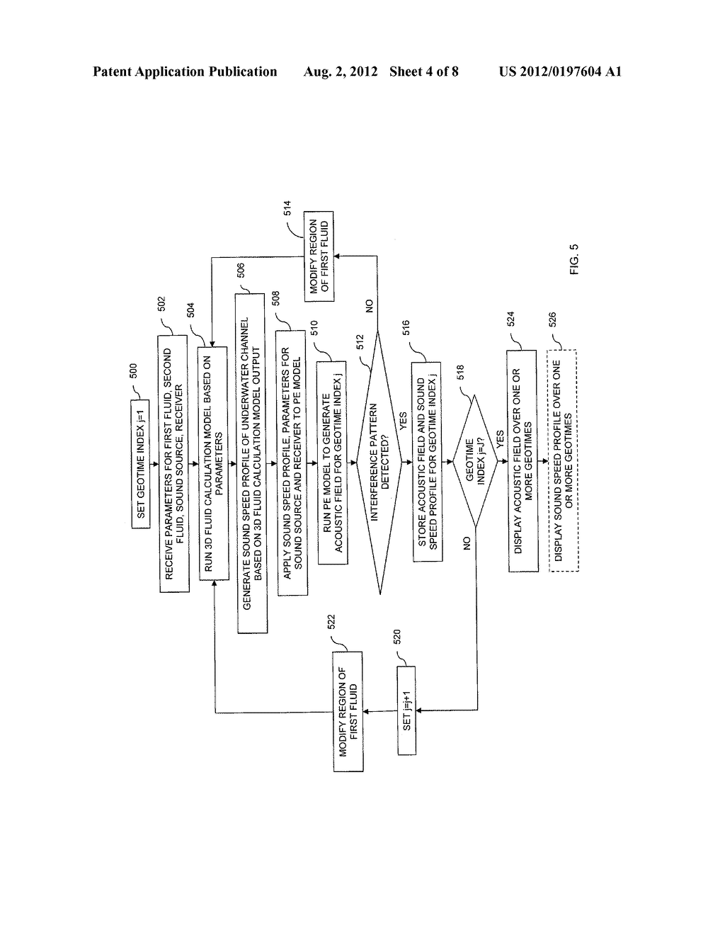 SIMULATOR AND METHOD FOR SIMULATING AN ACOUSTIC FIELD OF AN ACOUSTIC     WAVEGUIDE - diagram, schematic, and image 05