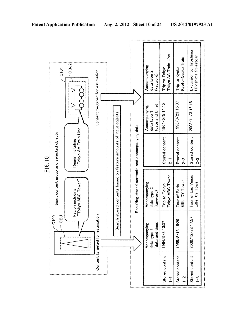 INFORMATION PROCESSING DEVICE, PROCESSING METHOD, COMPUTER PROGRAM, AND     INTEGRATED CIRCUIT - diagram, schematic, and image 11