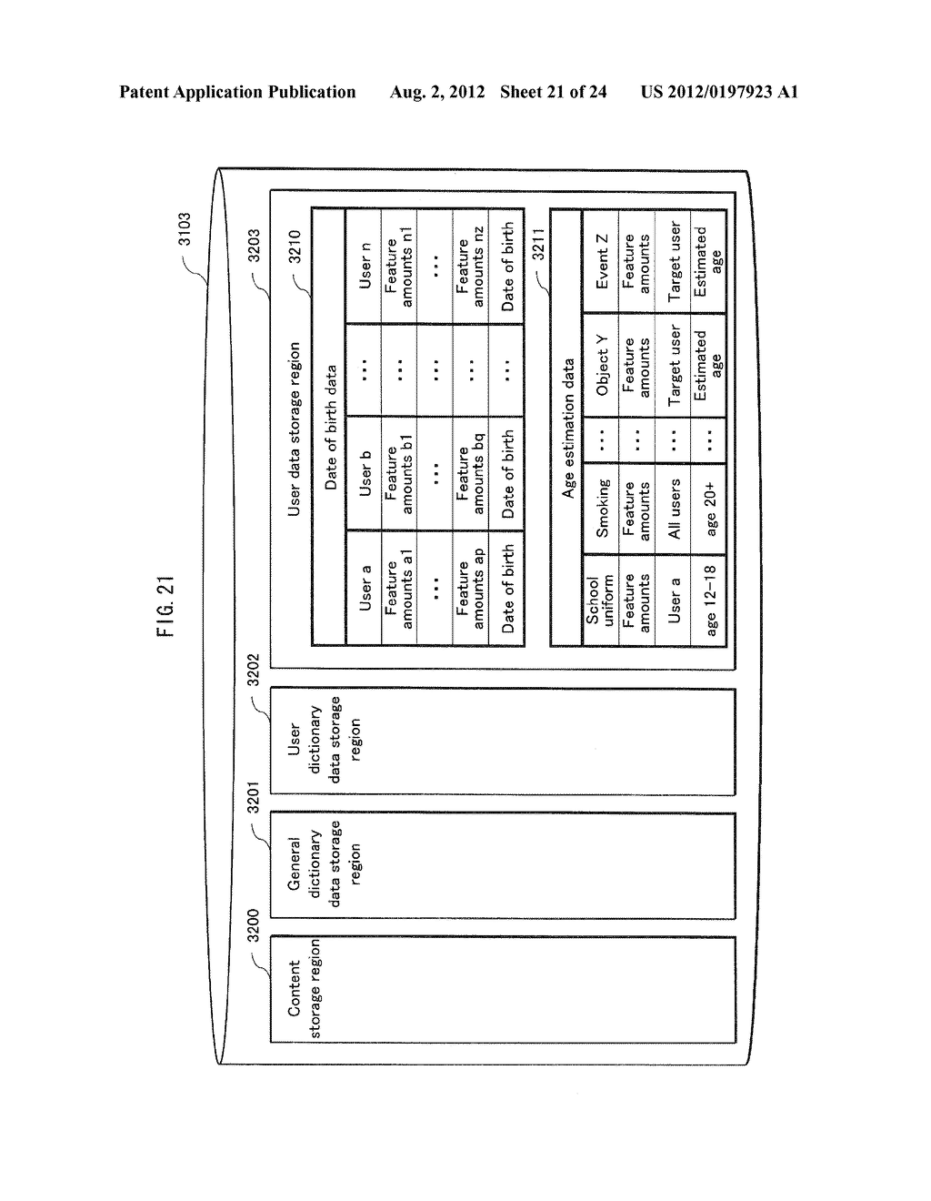 INFORMATION PROCESSING DEVICE, PROCESSING METHOD, COMPUTER PROGRAM, AND     INTEGRATED CIRCUIT - diagram, schematic, and image 22