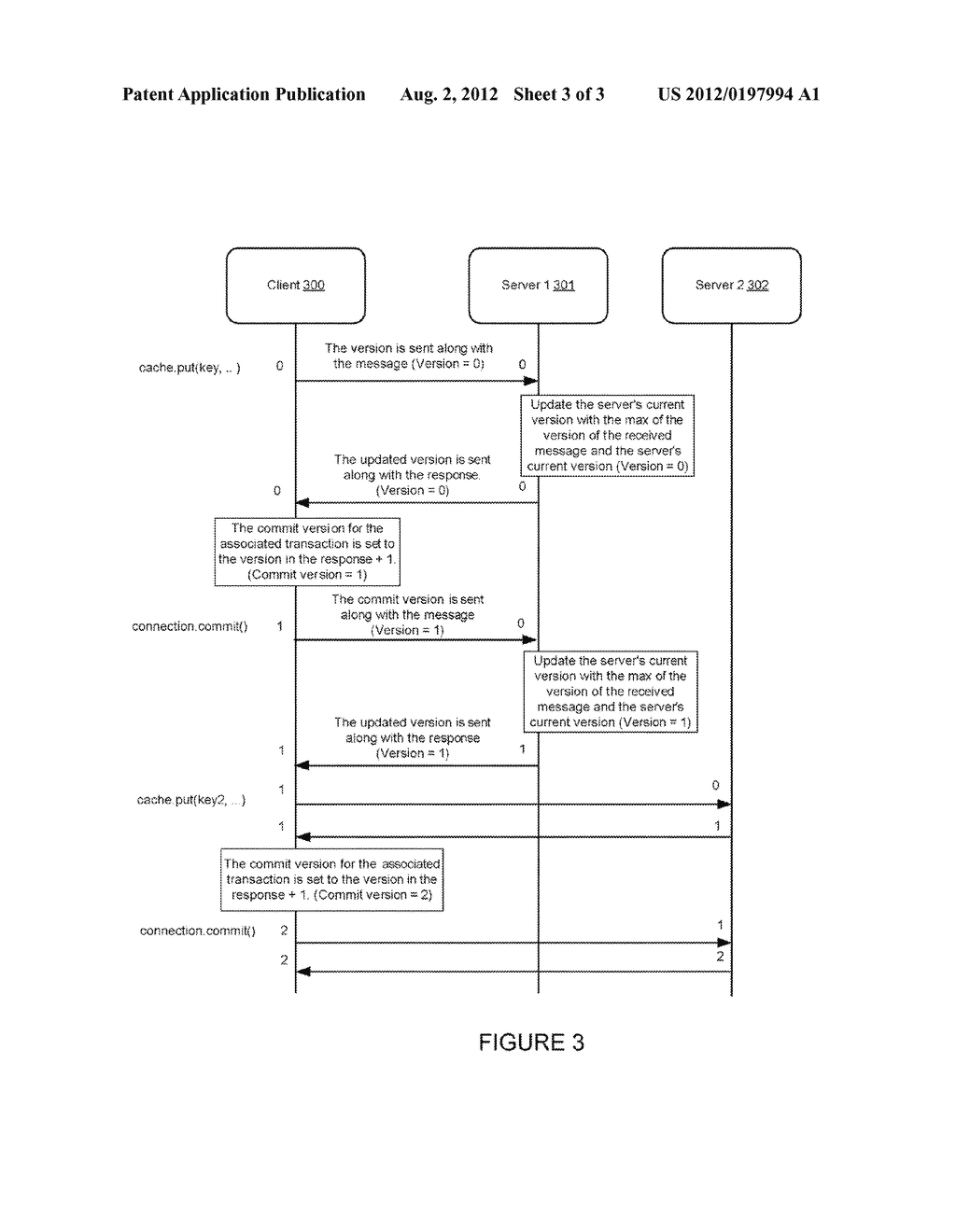TRANSACTIONAL CACHE VERSIONING AND STORAGE IN A DISTRIBUTED DATA GRID - diagram, schematic, and image 04