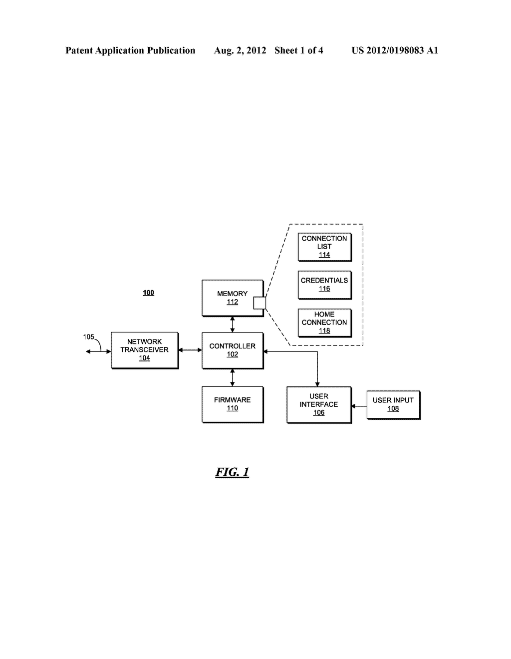 CLIENT DEVICE AND METHOD FOR FINDING AND BINDING TO A HOME CONNECTION - diagram, schematic, and image 02