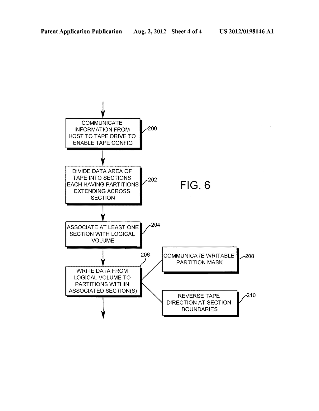 SYSTEM AND METHOD FOR STORING DATA WITH HOST CONFIGURATION OF STORAGE     MEDIA - diagram, schematic, and image 05
