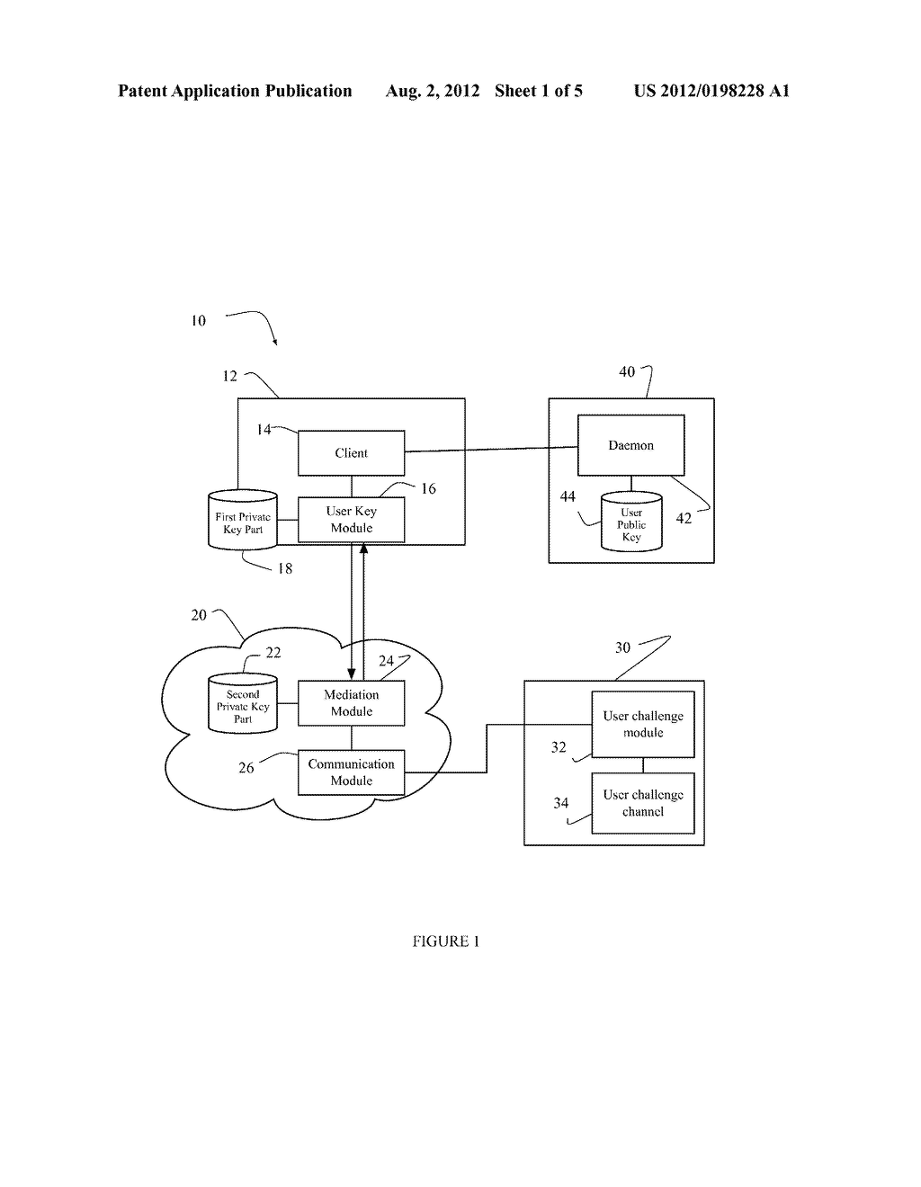 SYSTEM AND METHOD FOR DIGITAL USER AUTHENTICATION - diagram, schematic, and image 02