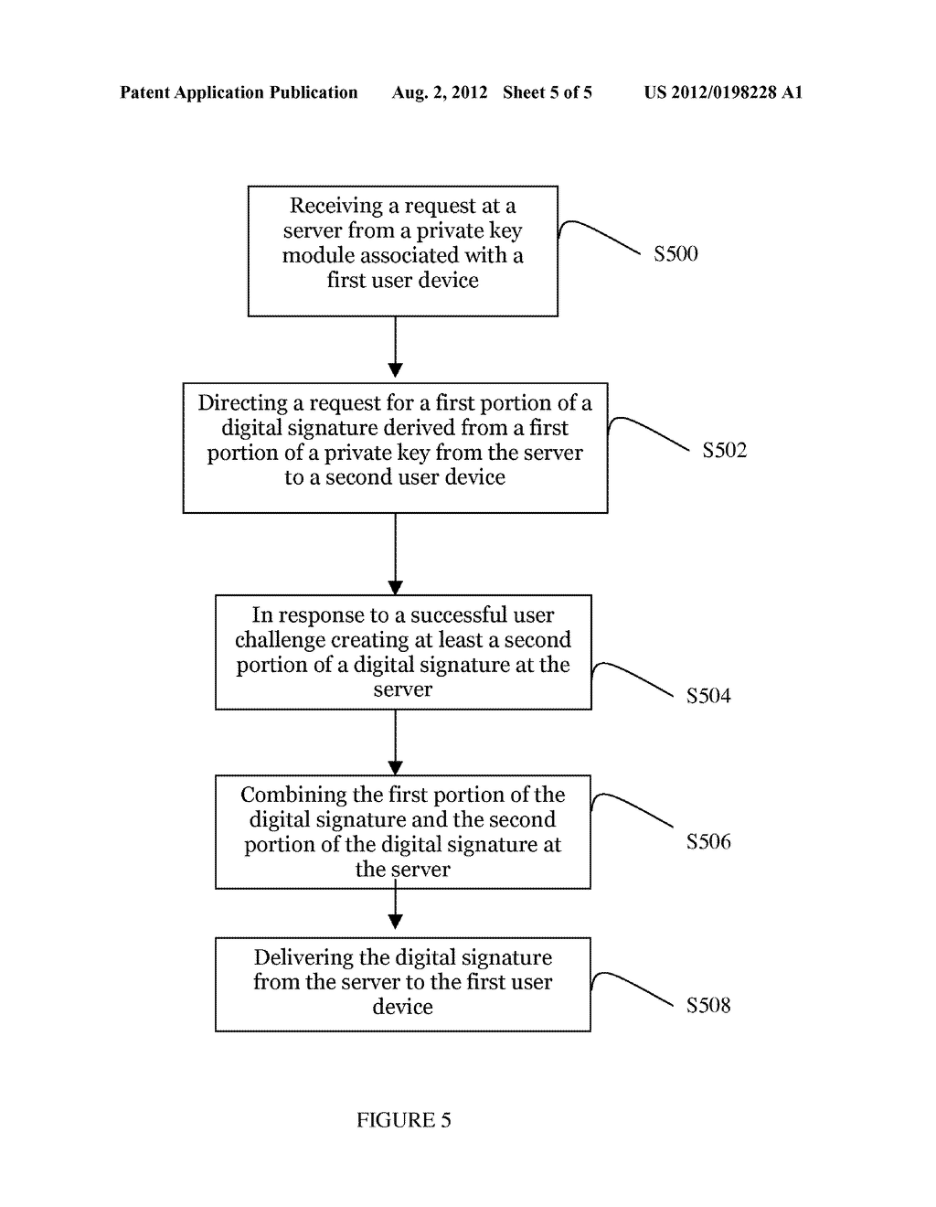 SYSTEM AND METHOD FOR DIGITAL USER AUTHENTICATION - diagram, schematic, and image 06