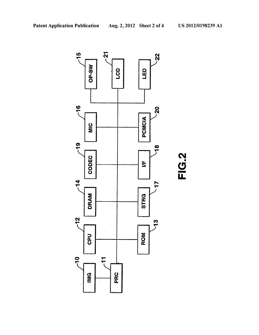 METHOD AND APPARATUS FOR INPUT OF CODED IMAGE DATA - diagram, schematic, and image 03
