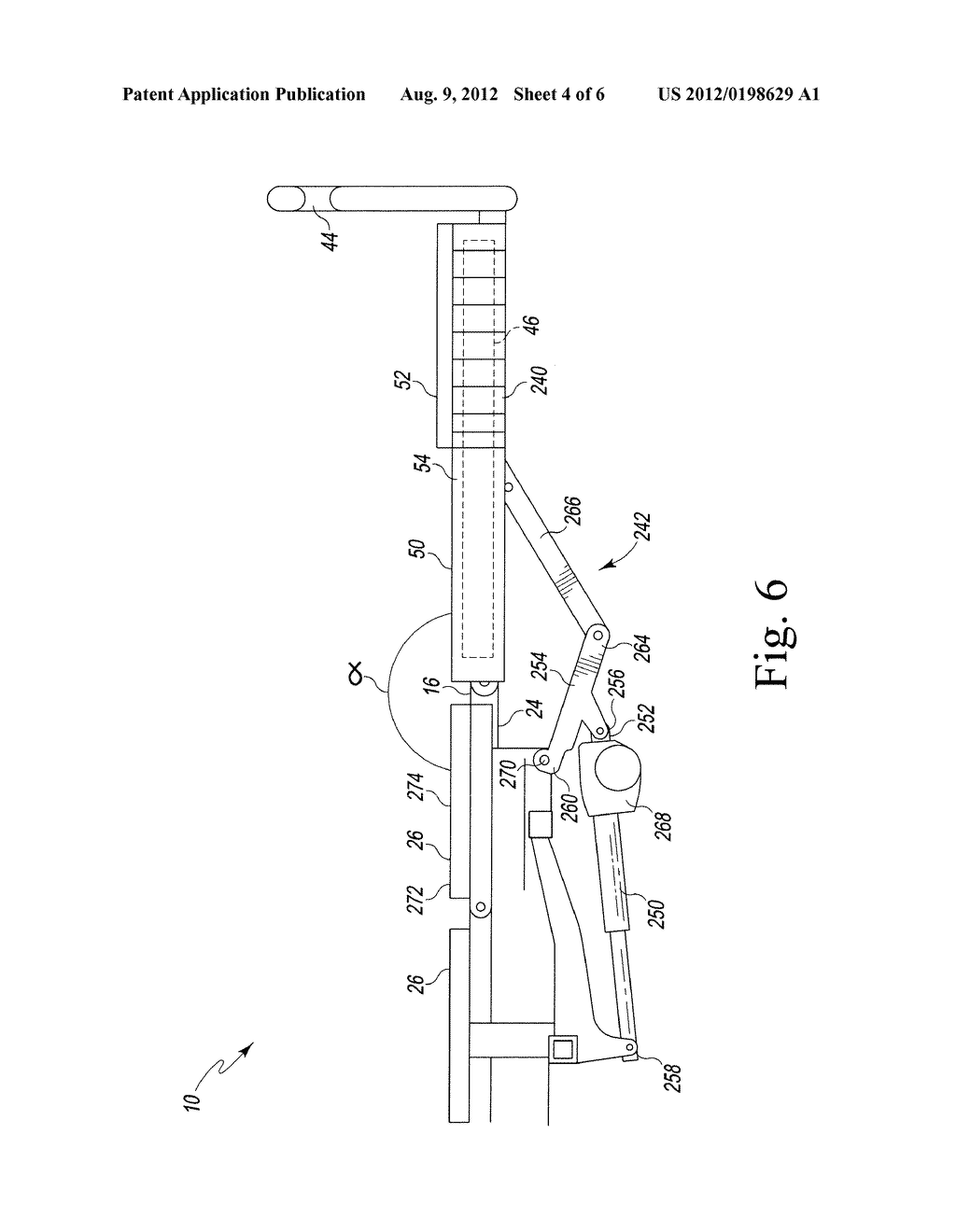 ADJUSTABLE FOOT SECTION FOR A PATIENT SUPPORT APPARATUS - diagram, schematic, and image 05