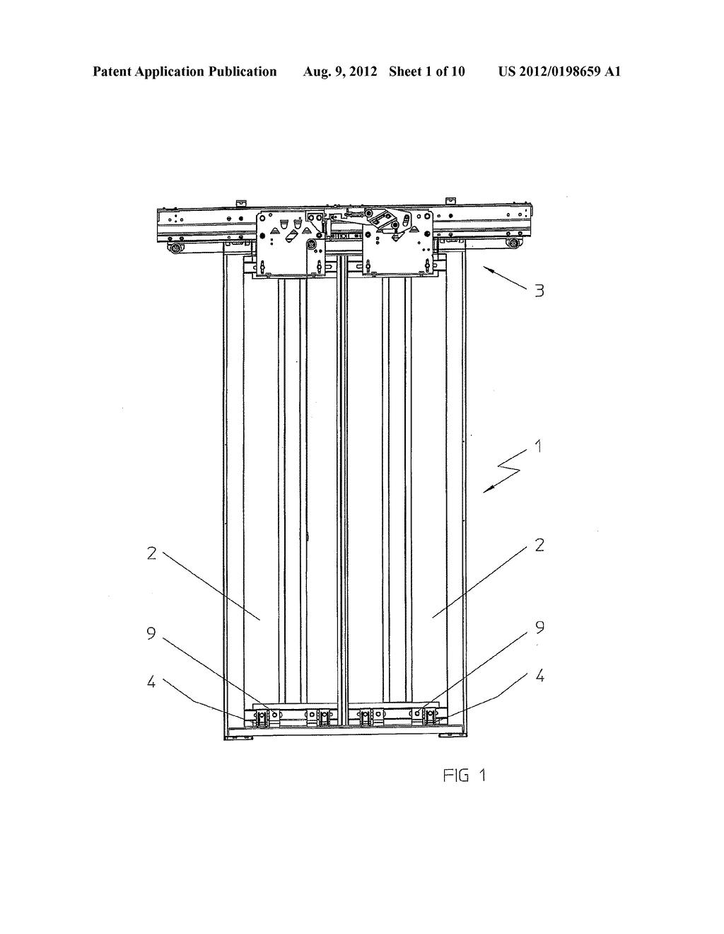 elevator doors diagram
