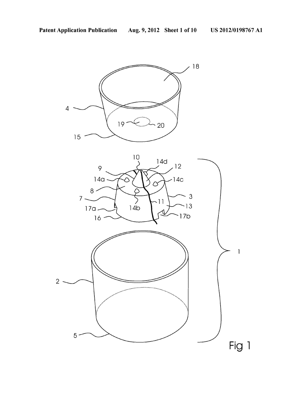 SELF-WATERING SYSTEM FOR A POTTED PLANT - diagram, schematic, and image 02