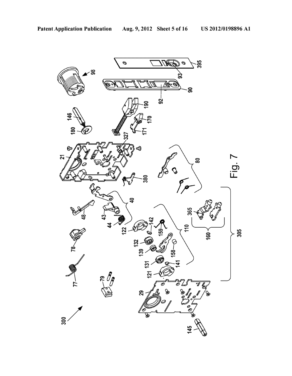 Mortise Lock Assembly Diagram Schematic And Image 06