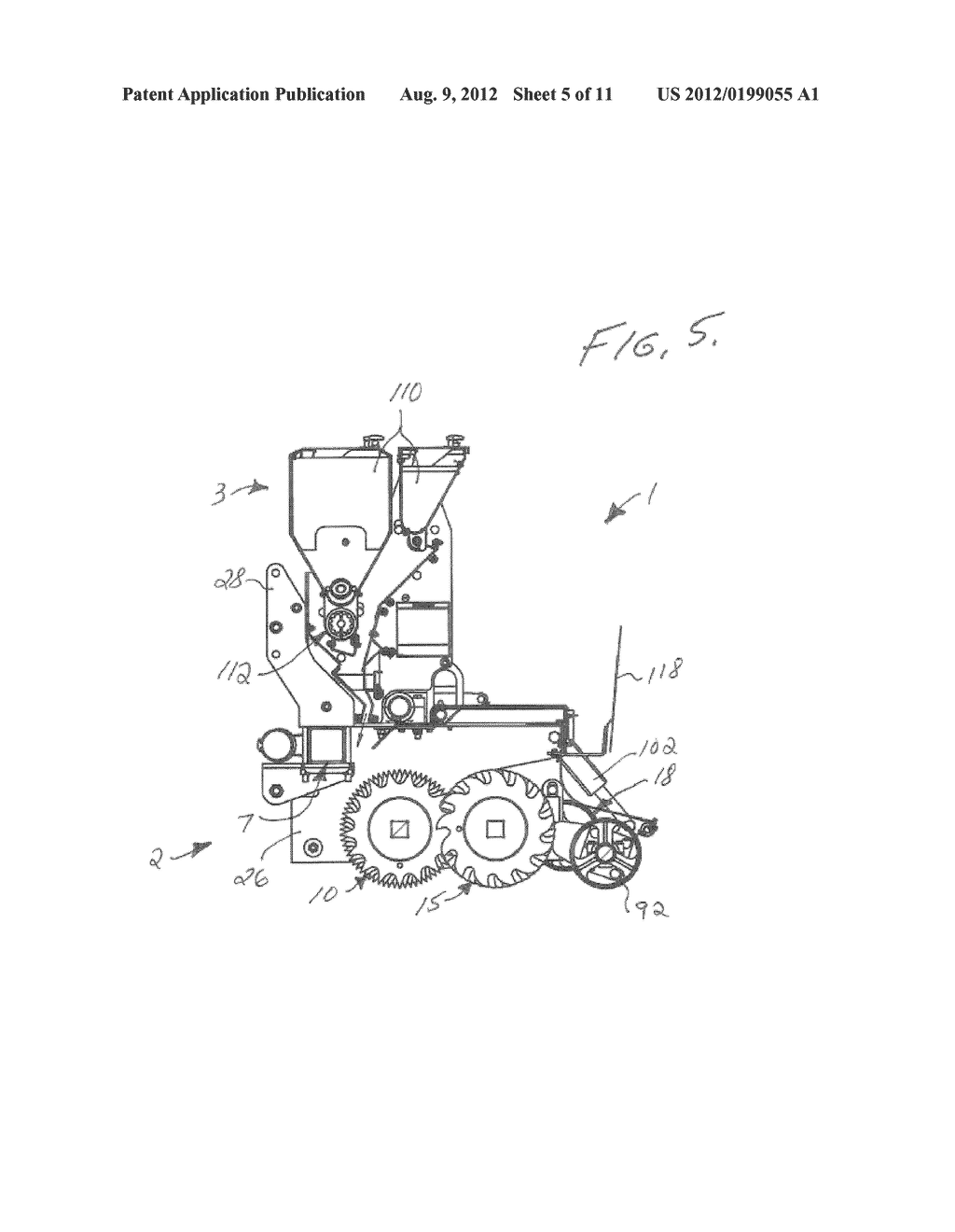 Single Pass Ground Driven Tiller And Seeder Apparatus Diagram Engine Schematic Image 06