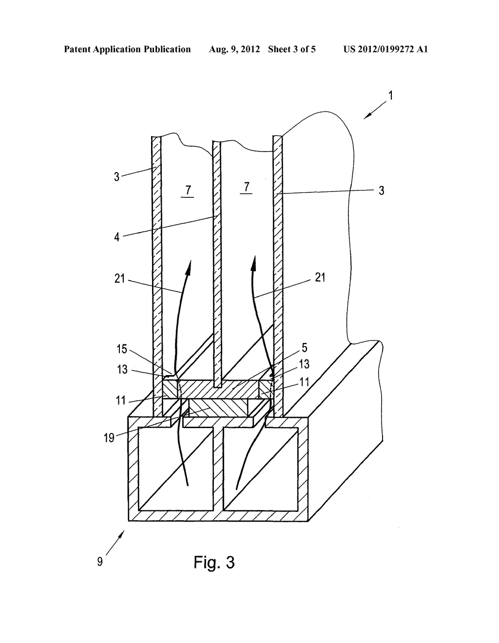 METHOD FOR PRODUCING INSULATING GLASS THAT IS FILLED WITH A GAS THAT IS     DIFFERENT FROM AIR - diagram, schematic, and image 04