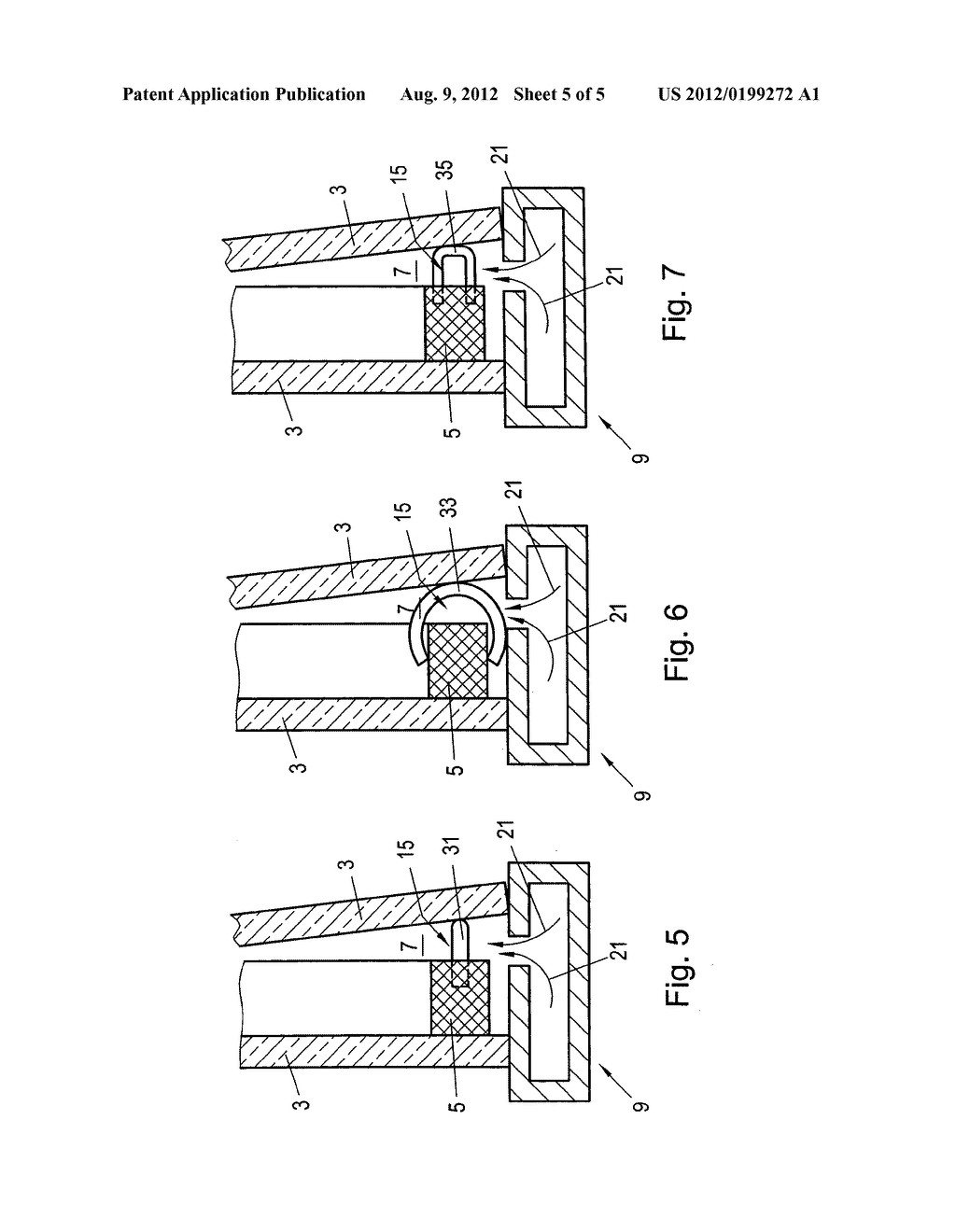 METHOD FOR PRODUCING INSULATING GLASS THAT IS FILLED WITH A GAS THAT IS     DIFFERENT FROM AIR - diagram, schematic, and image 06