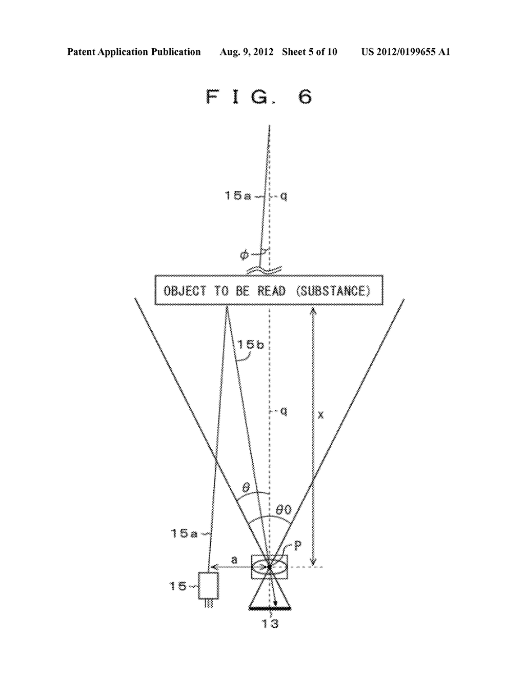 Optical Information Reader and Optical Information Reading Method - diagram, schematic, and image 06