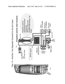 FLAIR SPRAYERS AND ISOLATION OF PRODUCT AND VENTING/PROPELLANT IN     DISPENSING DEVICES diagram and image