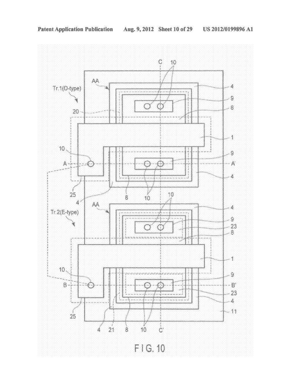 NON-VOLATILE SEMICONDUCTOR MEMORY DEVICE FOR SUPPRESSING DETERIORATION IN     JUNCTION BREAKDOWN VOLTAGE AND SURFACE BREAKDOWN VOLTAGE OF TRANSISTOR - diagram, schematic, and image 11