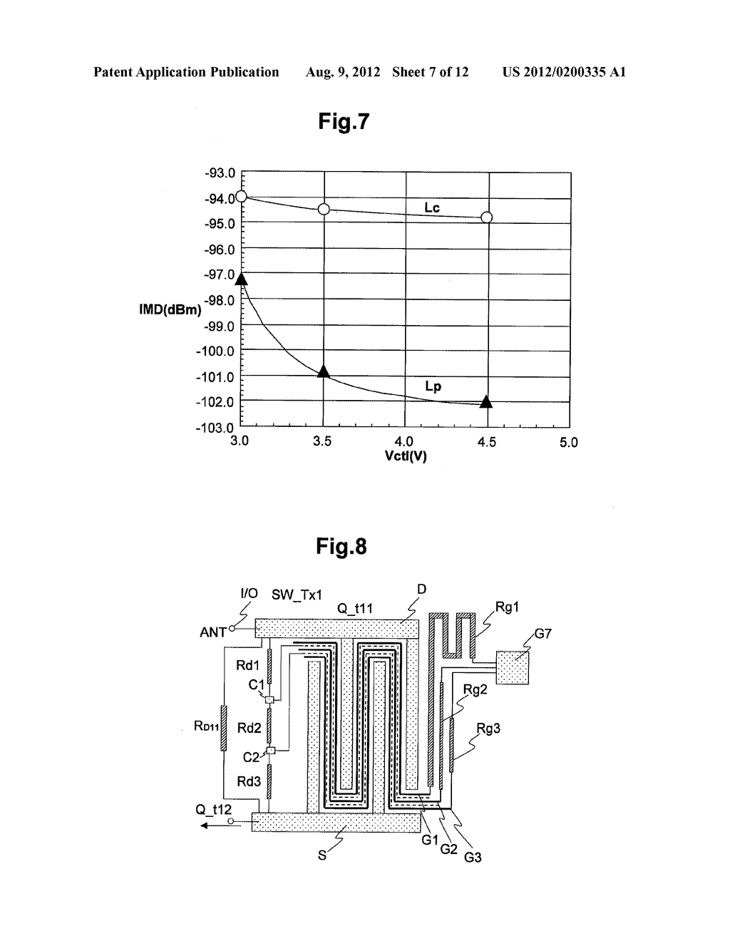 SEMICONDUCTOR INTEGRATED CIRCUIT, RF MODULE USING THE SAME, AND RADIO     COMMUNICATION TERMINAL DEVICE USING THE SAME - diagram, schematic, and image 08