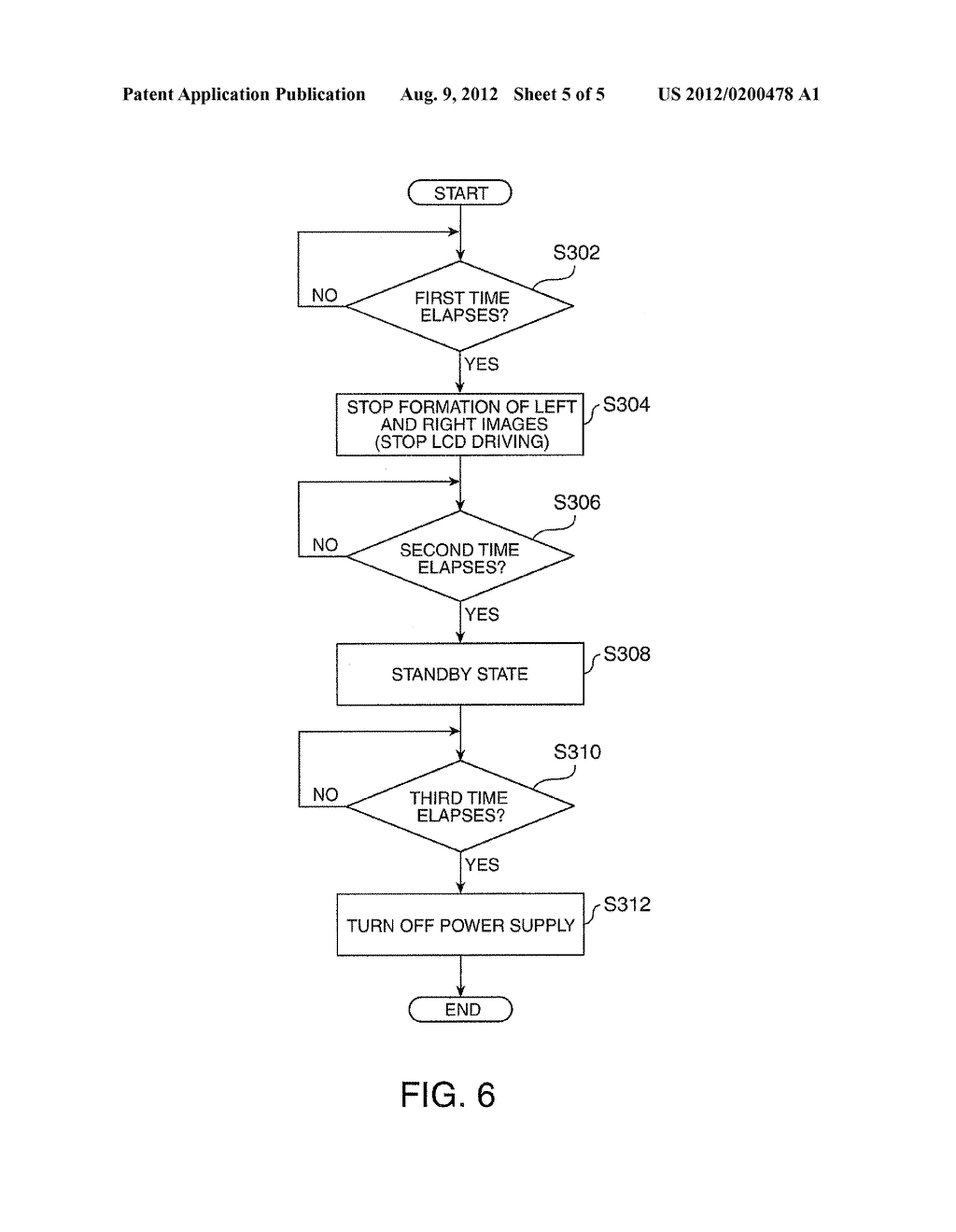 HEAD-MOUNTED DISPLAY DEVICE AND CONTROL METHOD FOR THE HEAD-MOUNTED     DISPLAY DEVICE - diagram, schematic, and image 06