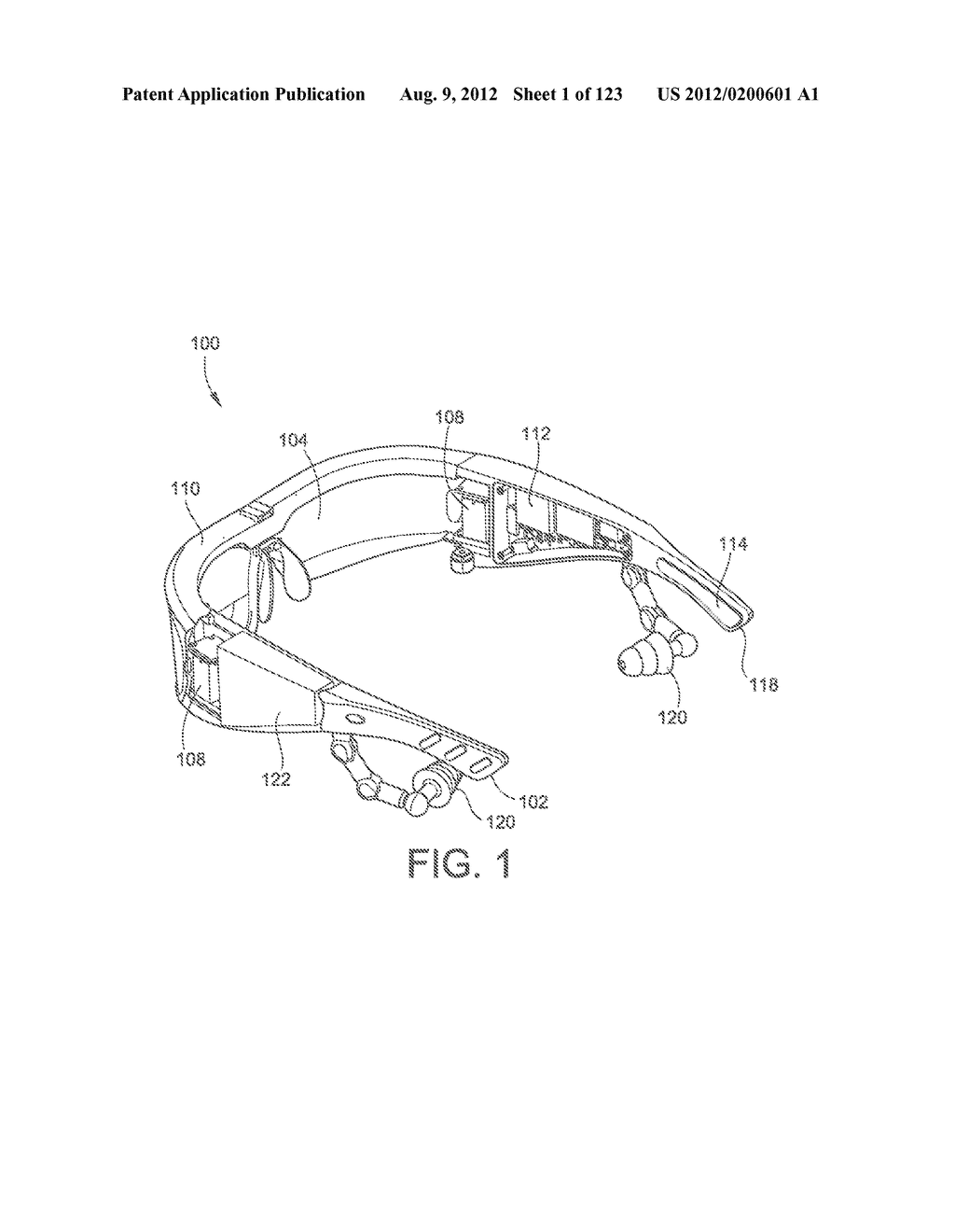 AR GLASSES WITH STATE TRIGGERED EYE CONTROL INTERACTION WITH ADVERTISING     FACILITY - diagram, schematic, and image 02