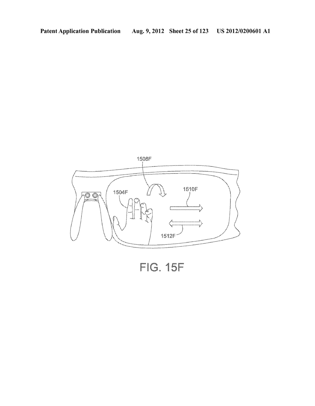 AR GLASSES WITH STATE TRIGGERED EYE CONTROL INTERACTION WITH ADVERTISING     FACILITY - diagram, schematic, and image 26