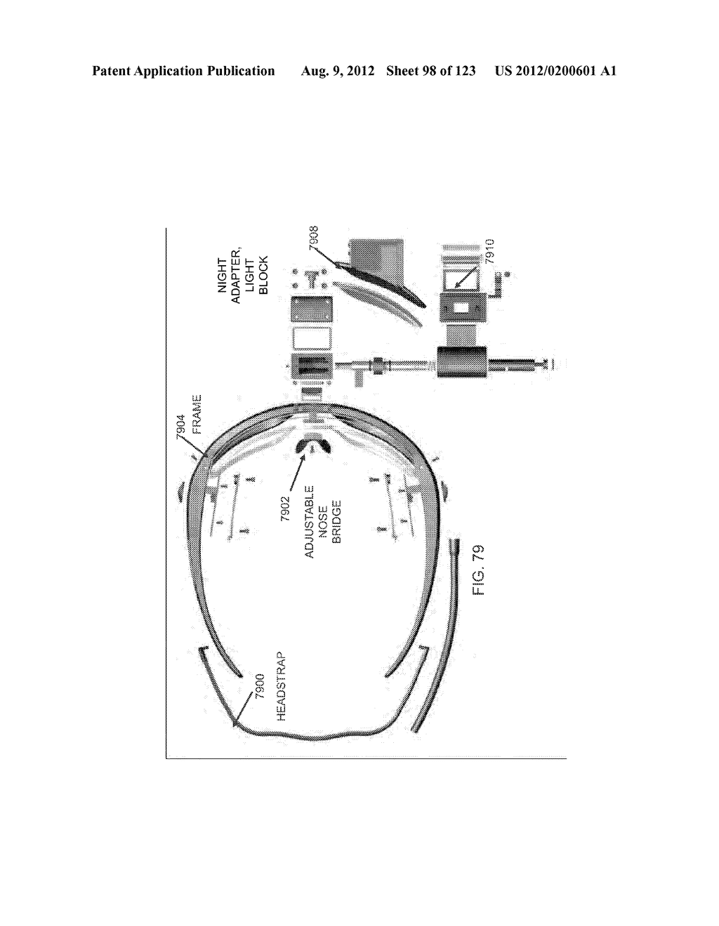 AR GLASSES WITH STATE TRIGGERED EYE CONTROL INTERACTION WITH ADVERTISING     FACILITY - diagram, schematic, and image 99