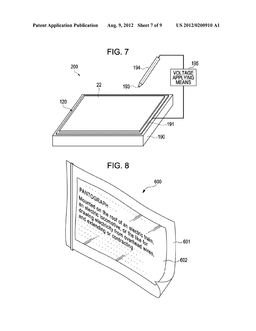 ELECTROPHORETIC DISPLAY SHEET AND MANUFACTURING METHOD THEREFOR - diagram, schematic, and image 08