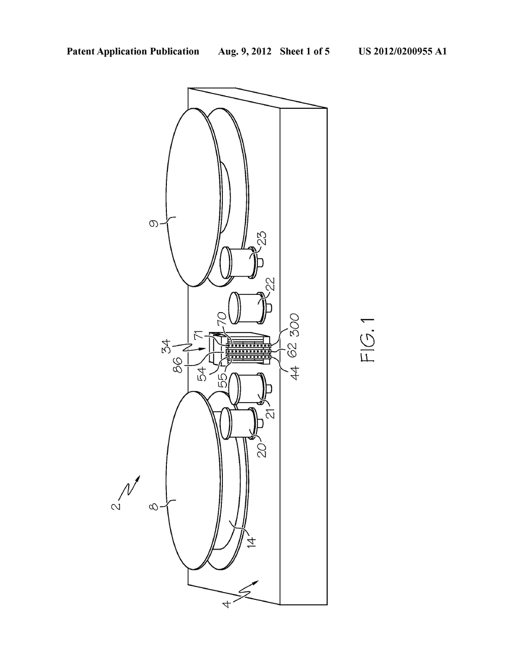 USING A READ-WRITE DATA STORAGE DEVICE HAVING A DUAL ACTUATOR - diagram, schematic, and image 02