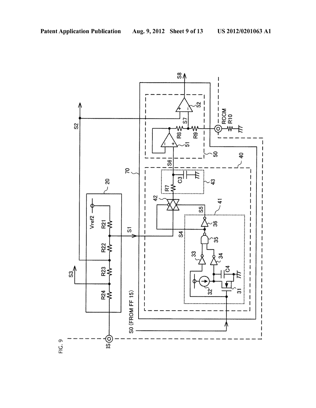 SWITCHING POWER SUPPLY CIRCUIT AND POWER FACTOR CONTROLLER - diagram, schematic, and image 10