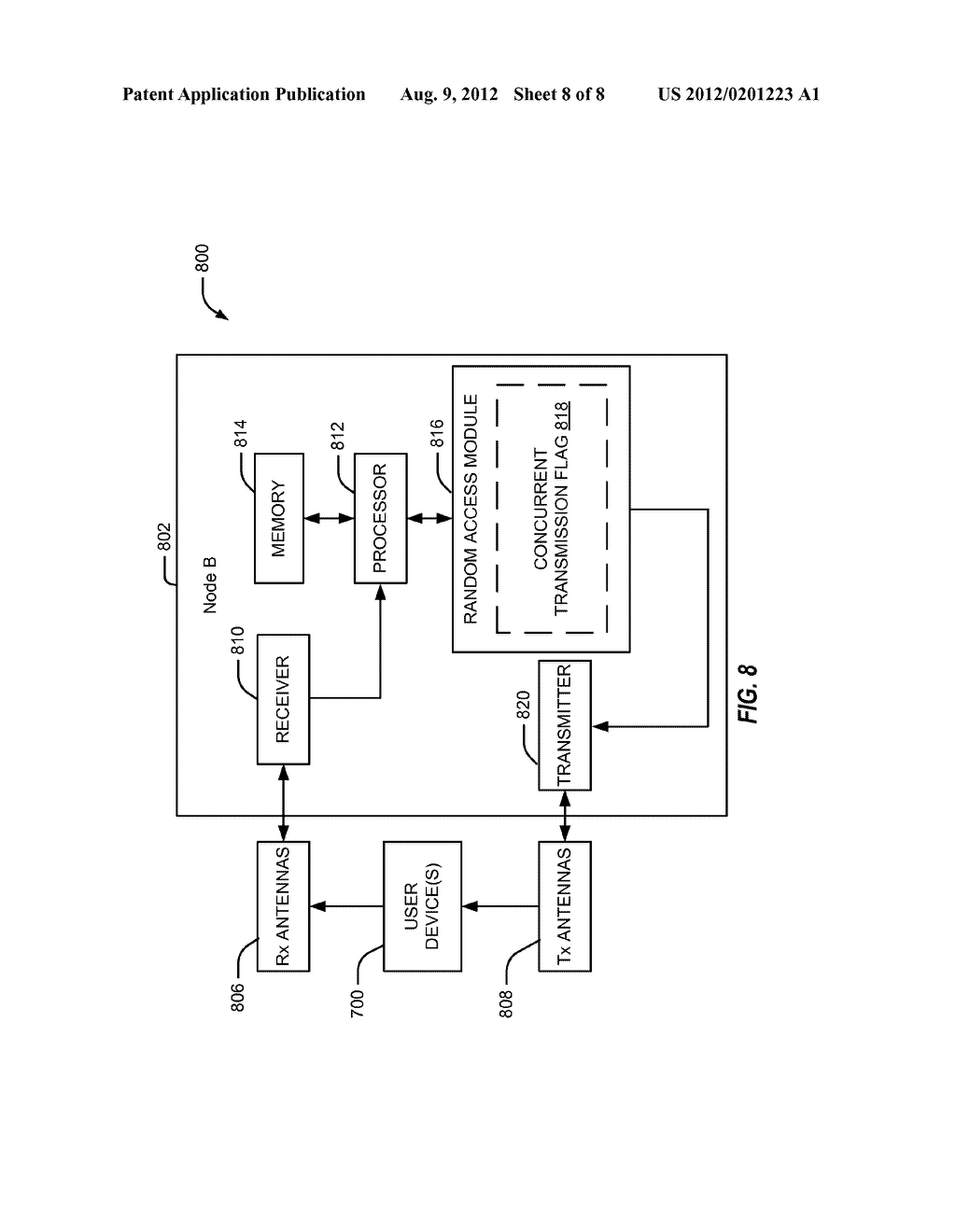 Method and Apparatus for Avoiding Physical Random Access Channel     Collisions - diagram, schematic, and image 09