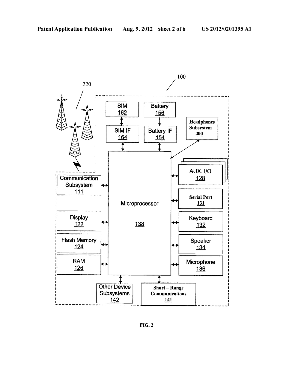 METHOD AND SYSTEM FOR CONTROLLING A MAXIMUM SIGNAL LEVEL OUTPUT TO     HEADPHONES COUPLED TO A WIRELESS DEVICE - diagram, schematic, and image 03