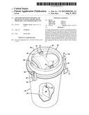Lids for positioning, holding and retaining tea bags and the like in     disposable and nondisposable cups diagram and image