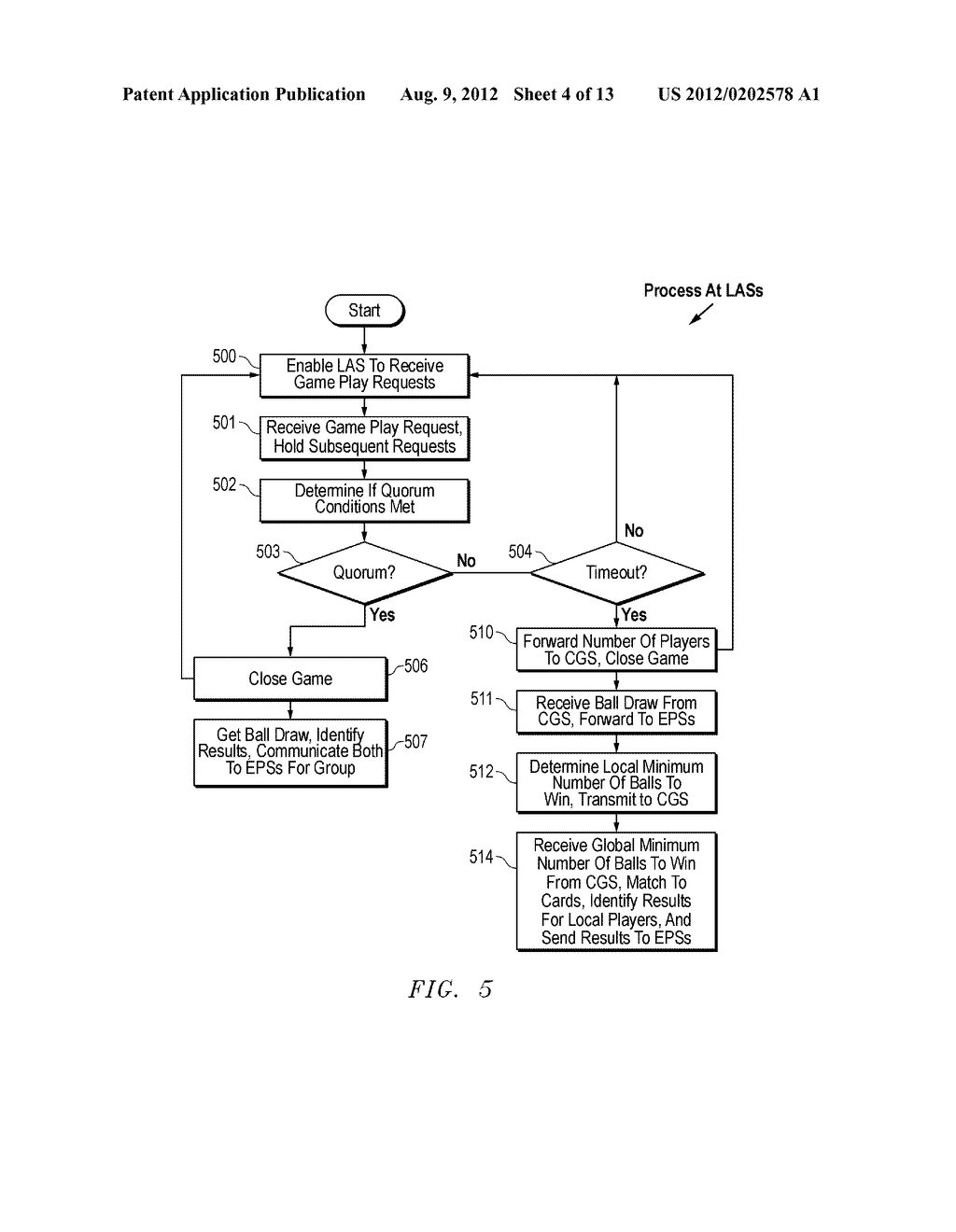 APPARATUS AND METHOD FOR MAPPING MULTIPLE BINGO GAME RESULTS TO A COMMON     DISPLAY - diagram, schematic, and image 05