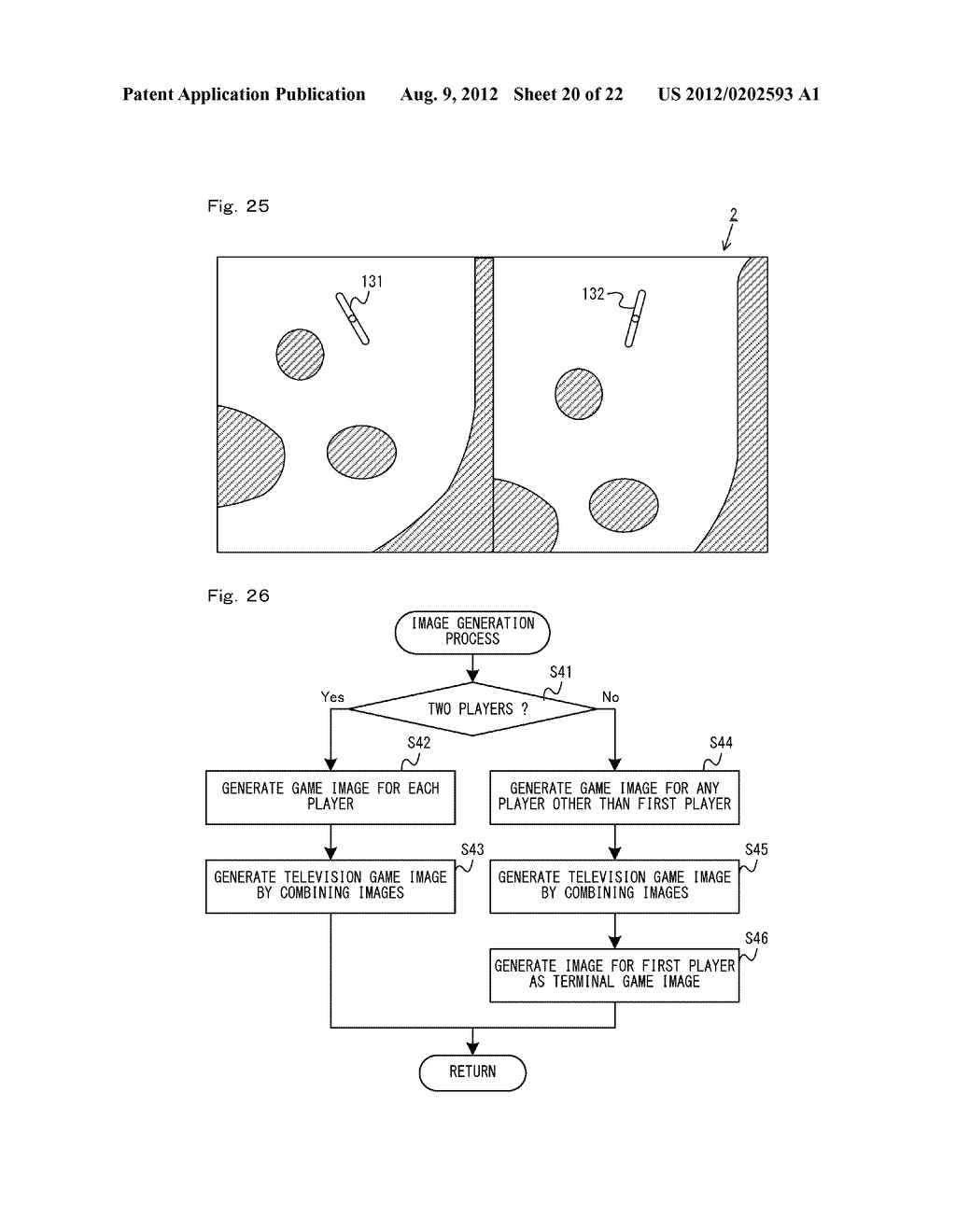 GAME SYSTEM, GAME APPARATUS, STORAGE MEDIUM HAVING GAME PROGRAM STORED     THEREIN, AND GAME PROCESS METHOD - diagram, schematic, and image 21