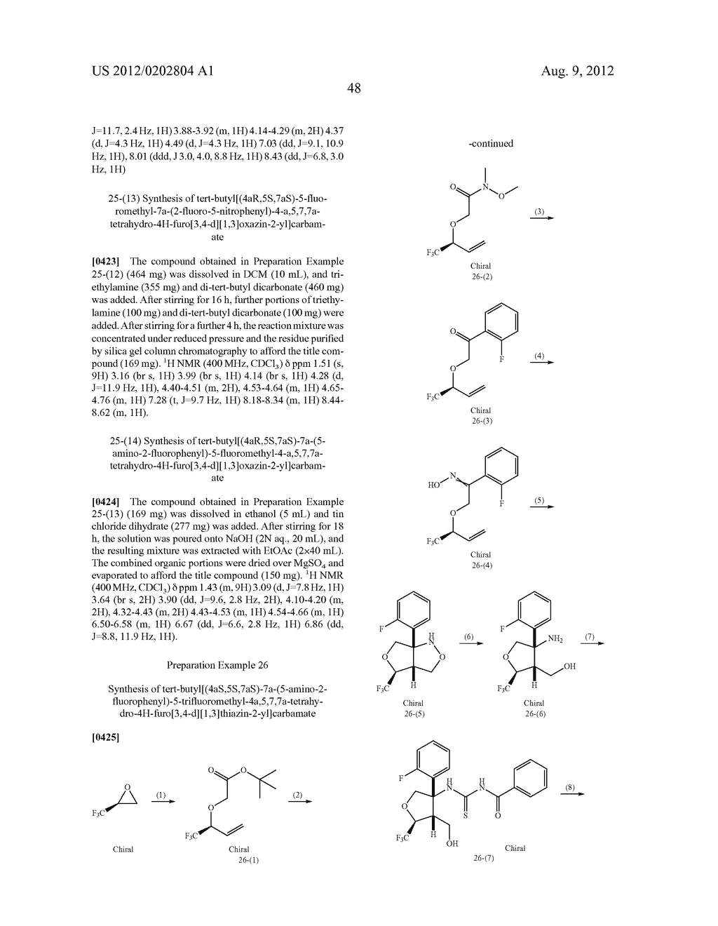 FUSED AMINODIHYDRO-OXAZINE DERIVATIVES - diagram, schematic, and image 49