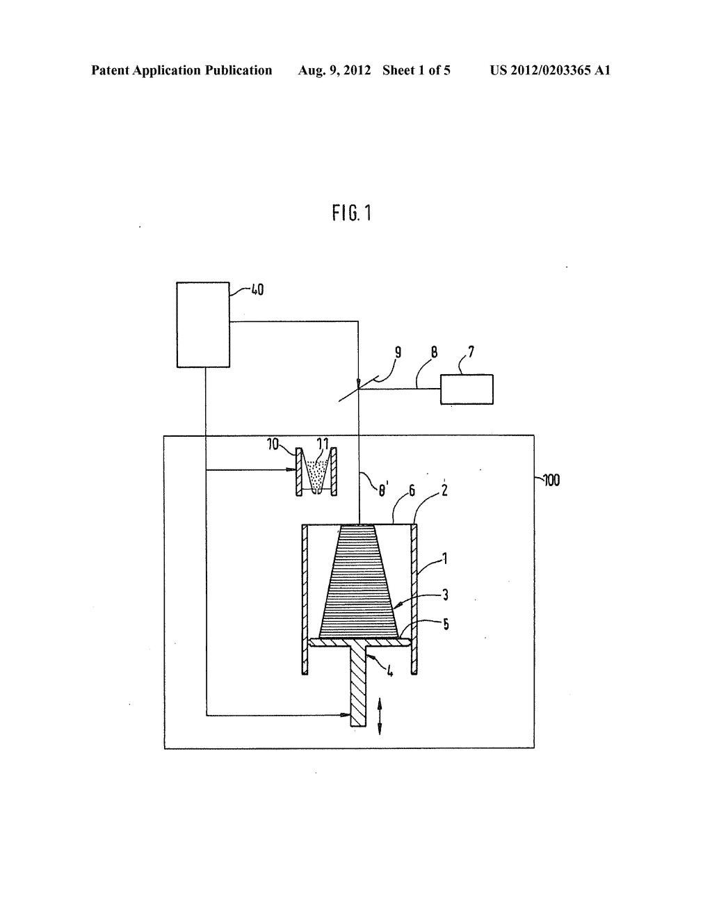 METHOD AND DEVICE FOR GENERATIVELY MANUFACTURING A THREE-DIMENSIONAL     OBJECT WITH THREE-DIMENSIONAL CODED CHARACTER - diagram, schematic, and image 02