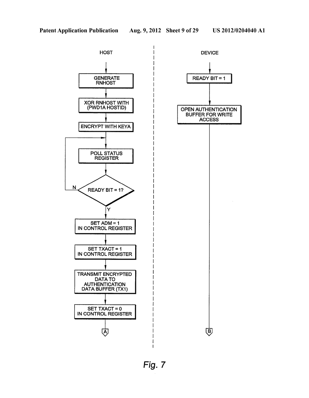 AUTHENTICATING FERROELECTRIC RANDOM ACCESS MEMORY (F-RAM) DEVICE AND     METHOD - diagram, schematic, and image 10