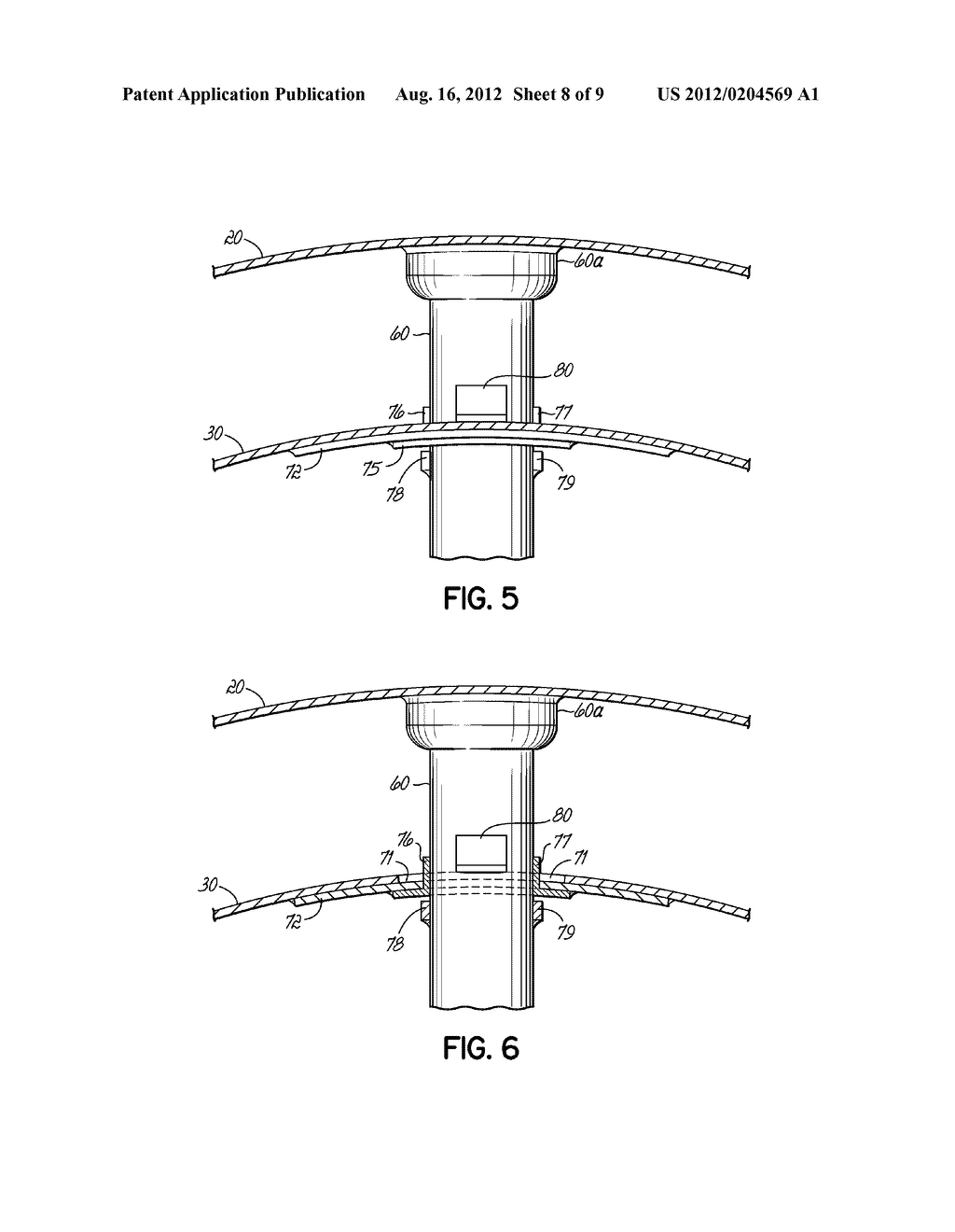 APPARATUS AND METHODS FOR ELIMINATING CRACKING IN A TURBINE EXHAUST SHIELD - diagram, schematic, and image 09